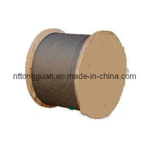 Tongguan Brand Steel Wire Rope 8*25fi pictures & photos