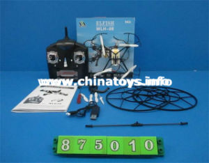 2.4G 4-Axis R/C Aircraft/6-Axis Gyro with Light& Camera Toy (875010) pictures & photos