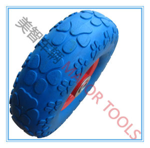 300-4 PU Wheel/Foam Wheel/PU Rubber Wheel for Wheelbarrow pictures & photos