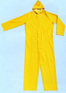 PVC Long Rain Coat R9041 pictures & photos