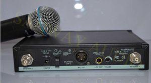 Slx Series Karaoke UHF Wireless Microphone, Wireless Lavalier Microphone pictures & photos