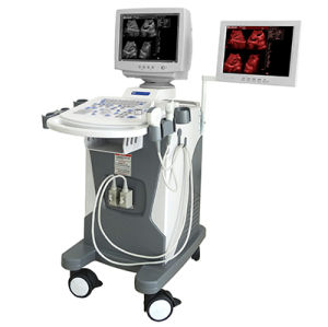 Med-B-3102A Cheapest Trolley B/W Ultrasound Scanner pictures & photos