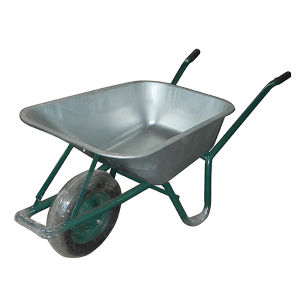 Heavy Duty Metal Plate Wheelbarrow (Wb6414T)