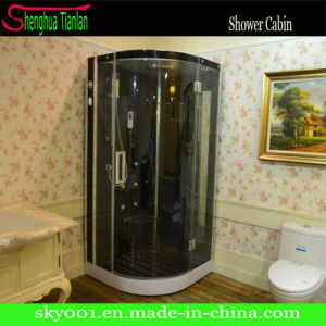 ABS Tray Wood Cushion Shower Sauna Steam Shower Cabin (TL-8894) pictures & photos