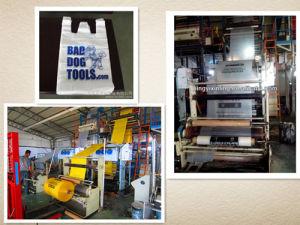 Factory Sale Customized Compostable Epi D2w PLA Corn Starch 100% Oxo Biodegradable Plastic T-Shirt Bags