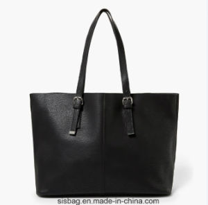 New Designer PU Stitching Shopping Bag Large Women Handbag pictures & photos