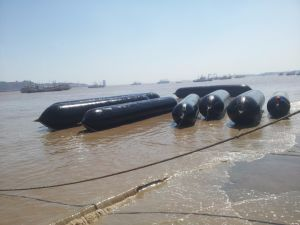 Marine Inflatable Rubber Airbag for Salvage, Marine Air Balloon, Inflatable Rollers Bag pictures & photos