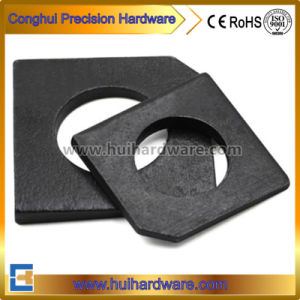 Carbon Steel Square Taper Washers for Slot Section pictures & photos