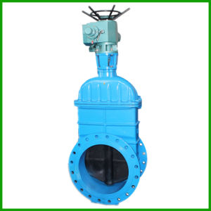 Electric Non-Rising Gate Valve-Motorised Non Rising Gate Valve pictures & photos