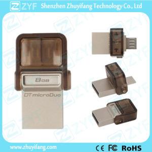 Microusb Port Custom Logo Mini 16GB OTG USB (ZYF1608) pictures & photos