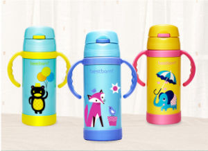Healty Cartoon Design Heat Transfer for Baby Water Bottles Printing Film pictures & photos