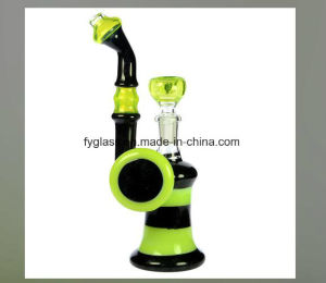 Black Diamond Stardust Bubbler with Slyme and Fixed Downstem 14.5mm pictures & photos