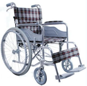 Manual /Aluminum / Folding Wheelchair pictures & photos