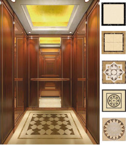 Passenger Elevator with Marble Floor pictures & photos