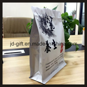 8 Side Seal Flat Bottom Plastic Laminated Package Bag with Zipper Lock pictures & photos