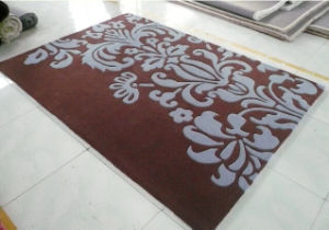 Superb Nature Carved Wool Rugs with Patterns pictures & photos