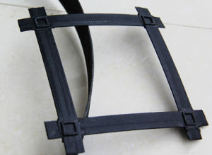 Convex Node Steel Plastic Geogrid, Bar Strip Steel Plastic Geogrid pictures & photos
