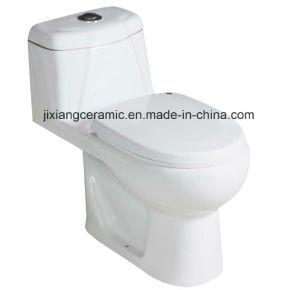 Washdown Bathroom Wc Closet One-Piece Toilet pictures & photos