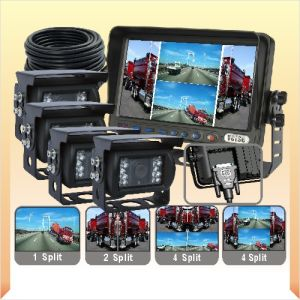 Quad Monitor Camera System with CCD Camera pictures & photos