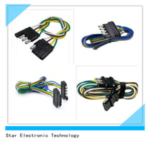 Manufacture of 5 Way and 4 Way Wiring Harness for Trailer Lights Tail Light pictures & photos