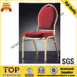 Stackable Gold Color Banquet Chairs pictures & photos