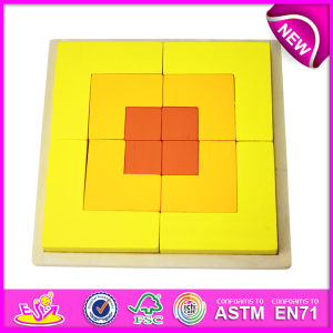 2014 Top New Popular Wooden Children Block Triangle Puzzle Toy pictures & photos
