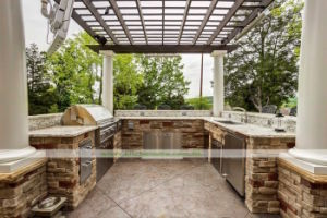 Stainless Steel Outdoor Kitchen with BBQ (WH-D326)