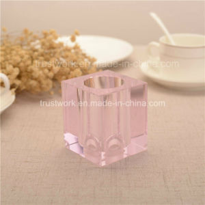 Natural Color K9 Crystal Candle Holder 1020c pictures & photos