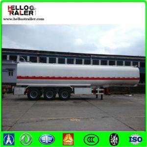 Tri Axle 42000L Oil Fuel Tanker Semi Trailer pictures & photos