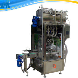 4 Heads Negative Pressure Type Liquid Filling Machine pictures & photos