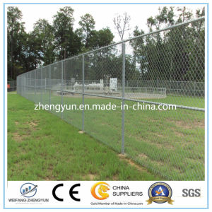 Cheap PVC Coated Used Chain Link Fence for Sale Factory pictures & photos