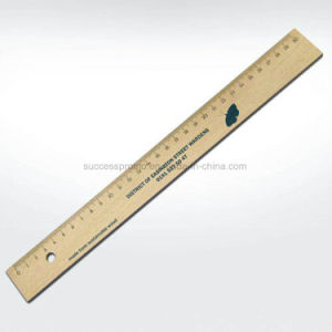 Sustainable Wooden Ruler 30 Cm pictures & photos