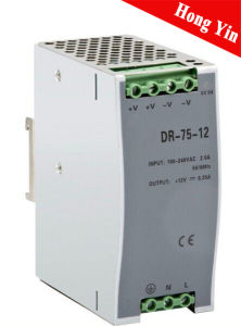 Dr-75-48 1.6A Low Operation Temperature DIN-Rail Power Supply pictures & photos
