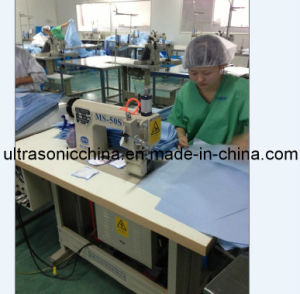 Ultrasonic Lace Sewing Machine for Medical Coat (CE) pictures & photos