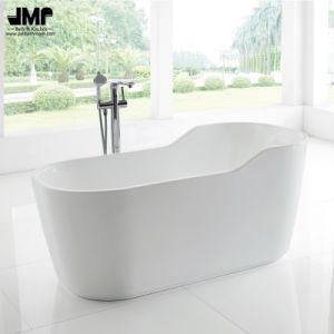 "59""Hot Sale Freestanding White Bath Tub Acrylic SPA Soaking Bathtub (2189) pictures & photos"
