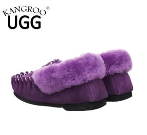 Women Fashion Indoor Shoes in Purple for Winter pictures & photos