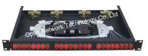 Rack Mount ODF 24 Ports Fiber Distribution Frame Gpx-4810-FC24 pictures & photos