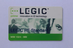 Legic Atc1024 RFID Card for Access Control and Payment