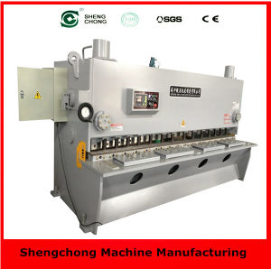 QC11y/K 8X5000 Hydraulic Swing Beam Cutting Machine