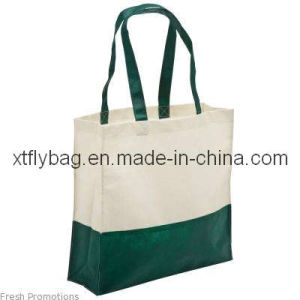 Large Polyester & Cotton Grocery Boutique Bag Fly-MB30005 pictures & photos