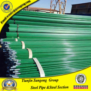 Thermosetting Epoxy Resin Powder Coating Steel Pipe pictures & photos