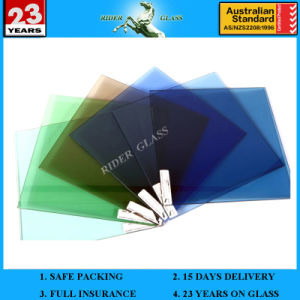 1.3mm-19mm Clear Blue Bronze Green Grey Building Glass pictures & photos