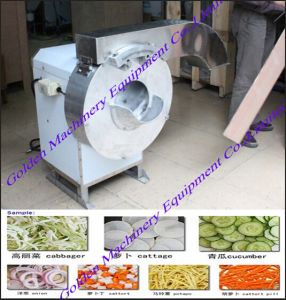 Multinational Double-Head Vegetable Slicer Chopper Cutter Processing Machine pictures & photos