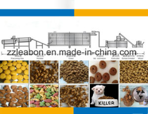 Pet Food Machine to Make Different Shapes Fish Pellets pictures & photos
