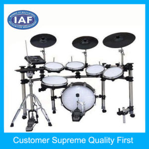 Factory Custom 3-Zone ABS Plastic Electronic Drum Set pictures & photos