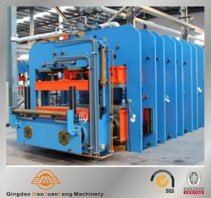 Hydraulic Big Size Plate Vulcanizing Curing Press Machine with ISO BV SGS pictures & photos