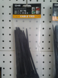 Heavy Duty Black Nylon Cable Ties Double-Locking pictures & photos