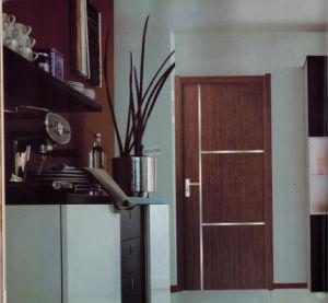 Popular Simple Classical Design Steel Security Door pictures & photos