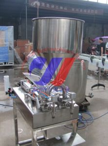 Semi-Automatic Paste (Ointment) Filling Machine pictures & photos