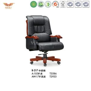 Wooden Office Furniture Luxury Executive Chair (B-217) pictures & photos